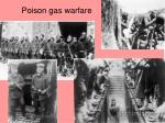 poison gas warfare