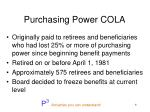 purchasing power cola