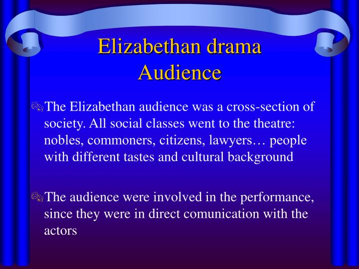 the elizabethian drama A summary of elizabethan literature in 's queen elizabeth i learn exactly what happened in this chapter, scene, or section of queen elizabeth i and what it means.
