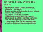 economic social and political empire