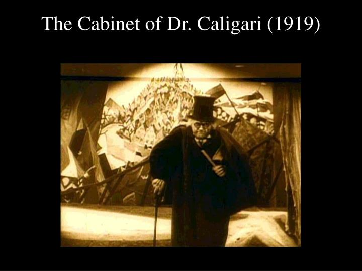 the cabinet of dr caligari 1919 n.