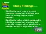 study findings cont2