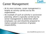 career management6