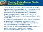 context national action plan for energy efficiency