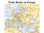 trade routes in europe