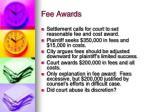 fee awards1
