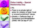 police liability special relationship duty5