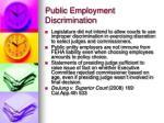 public employment discrimination3