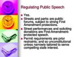 regulating public speech2