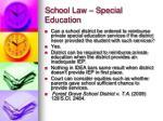 school law special education