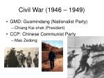 civil war 1946 1949