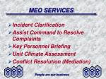 meo services