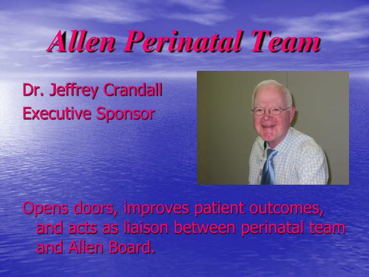 Allen perinatal team