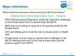 major milestones4
