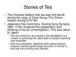 stories of tea