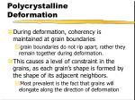polycrystalline deformation1
