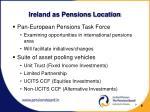 ireland as pensions location1