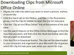 downloading clips from microsoft office online