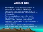 about qci