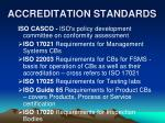 accreditation standards