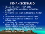 indian scenario