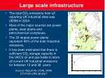 large scale infrastructure