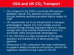 usa and uk co 2 transport