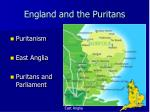 england and the puritans