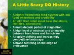 a little scary dq history1