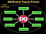 dq brand touch points