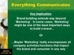 everything communicates1