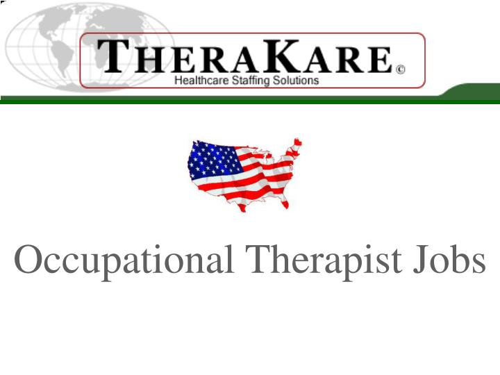 occupational therapist jobs n.