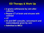ed therapy work up