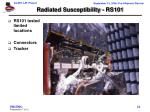 radiated susceptibility rs101