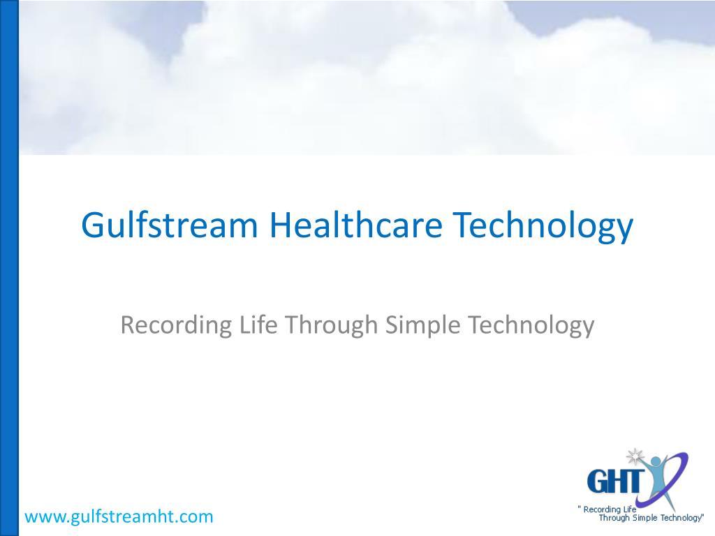 gulfstream healthcare technology l.