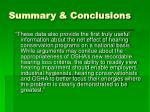 summary conclusions1