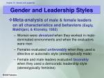 gender and leadership styles2