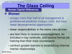 the glass ceiling7