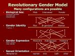revolutionary gender model many configurations are possible1