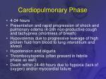 cardiopulmonary phase