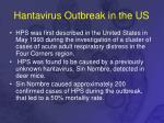 hantavirus outbreak in the us
