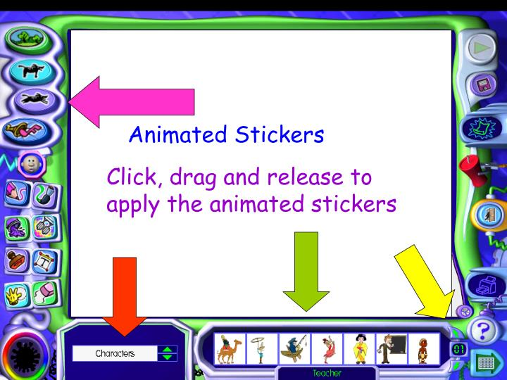 Animated Stickers