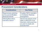 procurement considerations1