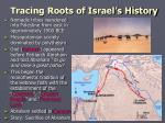 tracing roots of israel s history