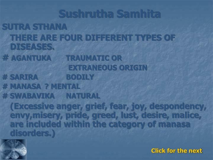 Sushrutha