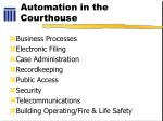 automation in the courthouse
