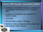 calvert cliffs nuclear generating station
