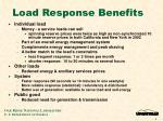 load response benefits