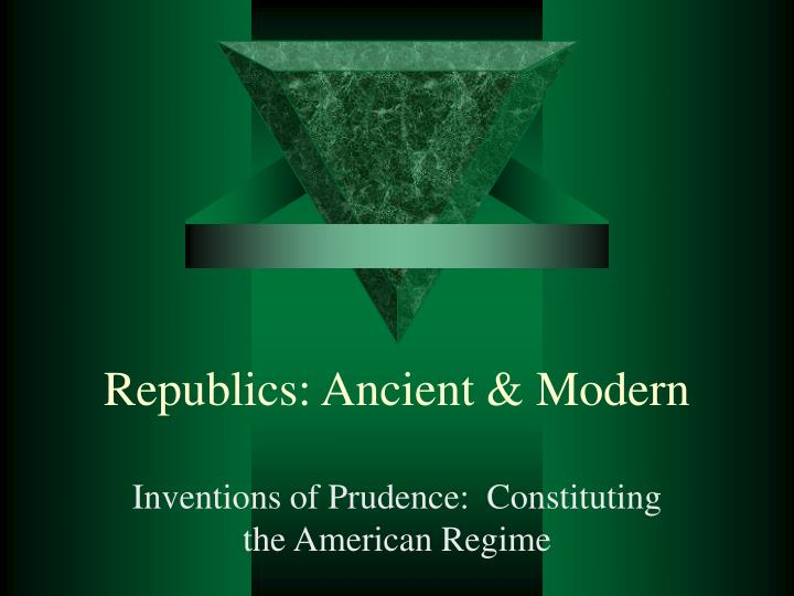 republics ancient modern n.