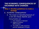 the economic consequences of exchange rate changes
